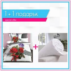 3D спално бельо + олекотена завивка - Роуз Рейсър