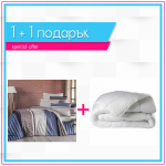 Спално бельо Ранфорс и завивка 1+1 - Rina