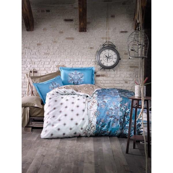 Спално бельо бамбук Alberica Blue