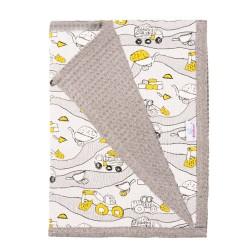 Бебешко одеяло 100% памук Constructo
