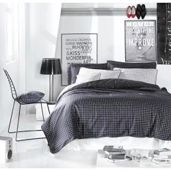 Спално бельо Hugo памучен сатен