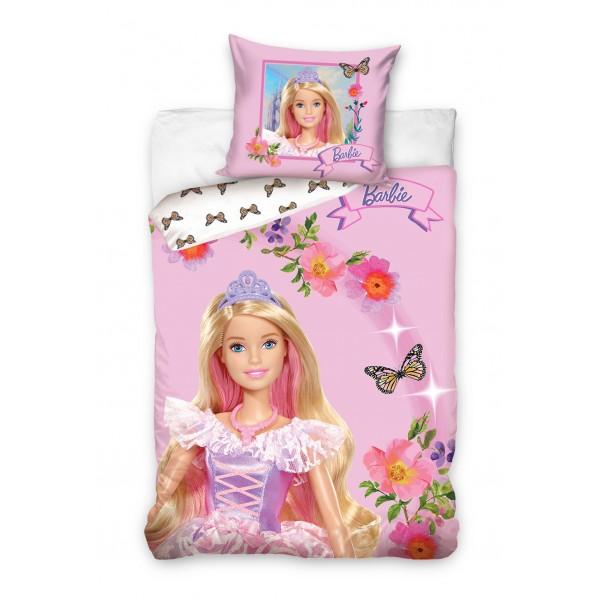 3D Спално бельо Barbie памучен сатен