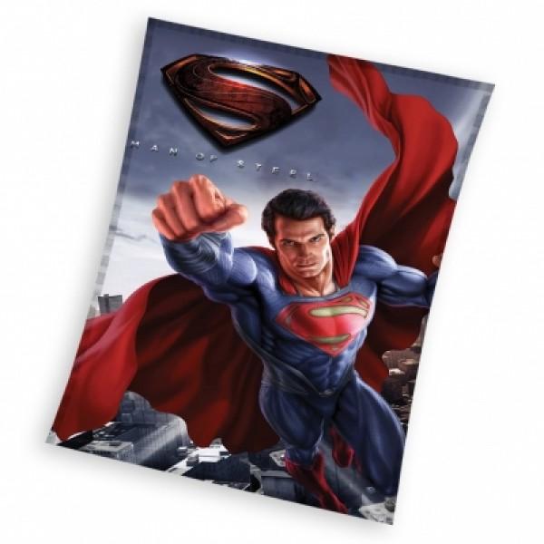 Поларено одеяло Супермен