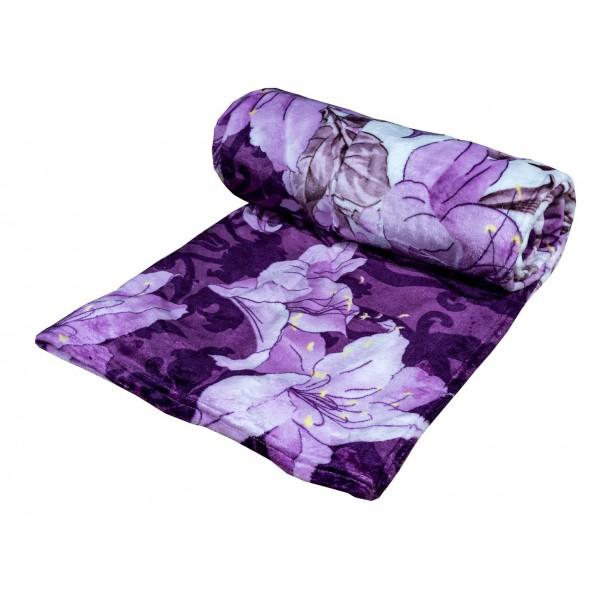 Поларено одеяло Purpless