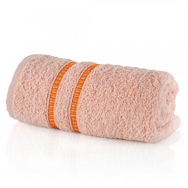 Хавлиена кърпа 30/50 цвят праскова Класик