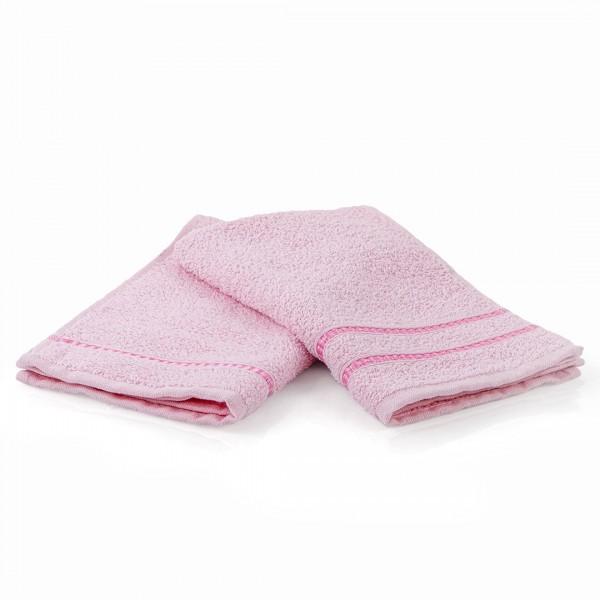 Хавлиена кърпа 70/140 за тяло розово