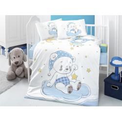 Луксозно бебешко спално бельо Вечерно Мече