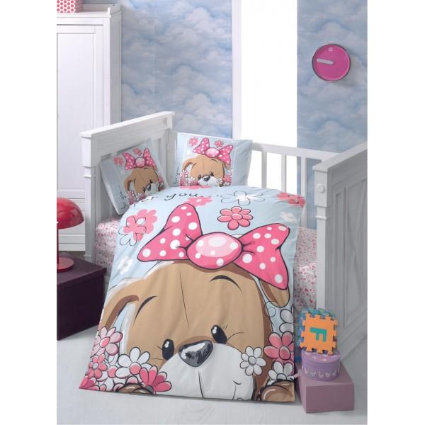 Луксозно бебешко спално бельо Puppy