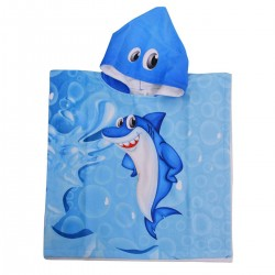 Детско пончо - малката акула L