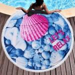 Памучна плажна кърпа Релакс