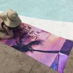 Памучна плажна кърпа By The Sea