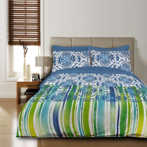 Единичен спален комплект Бохо Стил 100% памук