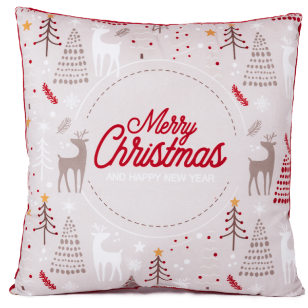 Коледна възглавница December декоративна