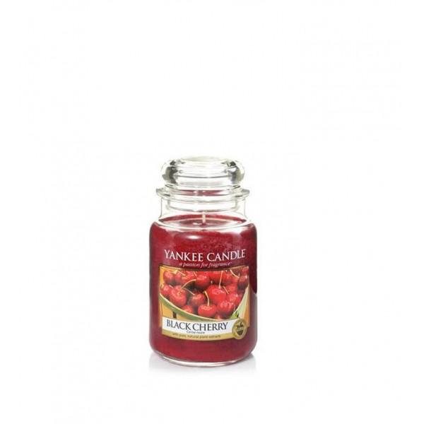 Ароматна свещ Black Cherry голям