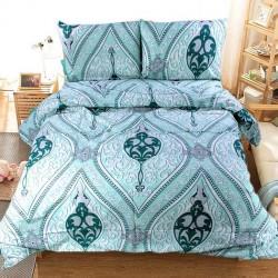 Спално бельо от фин памук Артур Аква