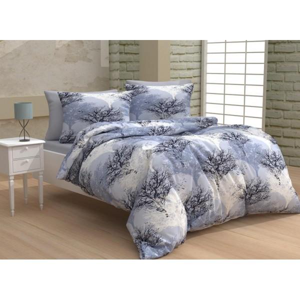 Спално бельо от 100% Памук Клонки Лила
