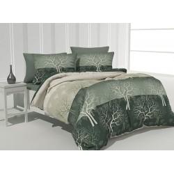 Спално бельо 100% Памук Woods green