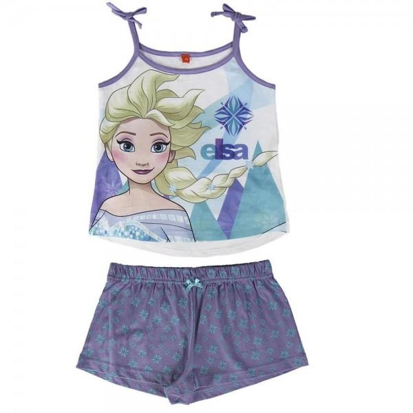 Лятна детска пижама Ана и Елза Frozen