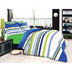 Спално бельо Classico blue Ранфорс
