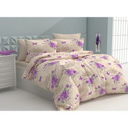Спално бельо 100% Памук Romans Purple