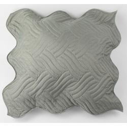 Декоративна възглавница ултрасоник сиво