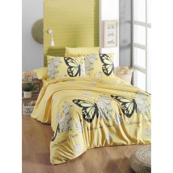 Спално бельо ранфорс Daisy