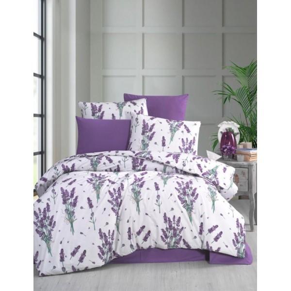 Спално бельо ранфорс Flora