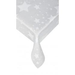 Тишлайфер със звездички сиво 40/150