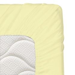 Бебешки чаршаф с ластик 70/140 жълто
