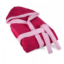 Детски халат за баня 12-14 години Розово