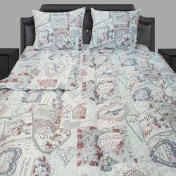 Спално бельо с олекотена завивка Paris Fantasy
