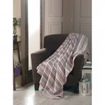 Памучно одеяло DARCEY розово