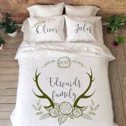 Спално бельо с имена