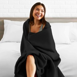 Черно одеяло за дома и ресторанта