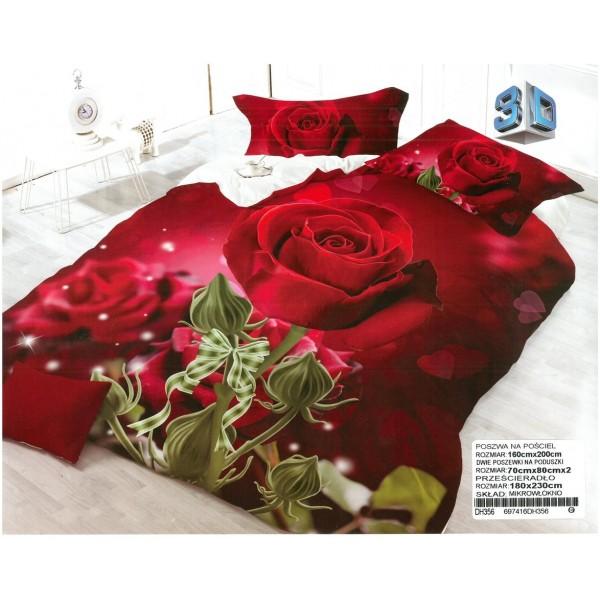 3D Спално бельо Св. Валентин