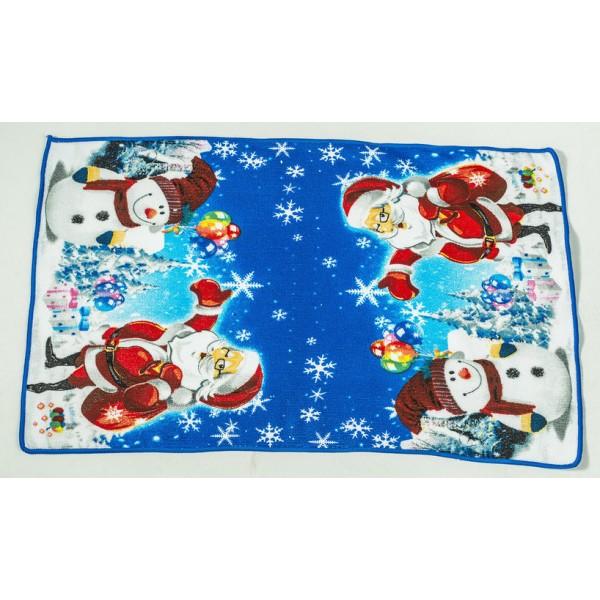 Кърпа Дядо Коледа и Снежния Човек