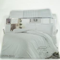 Спално бельо 7 части БАМБУК САТЕН бяло