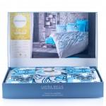 Луксозно спално бельо от сатен и кашмир Aballon
