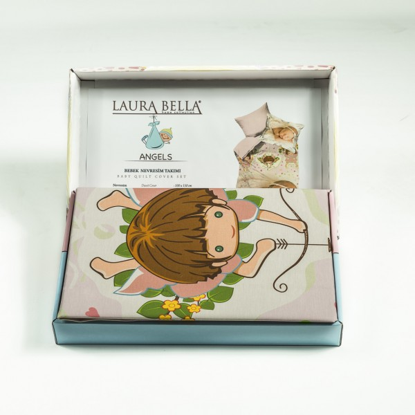 Ранфорс бебешко спално бельо АНГЕЛЧЕ