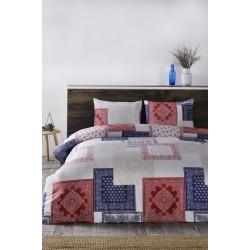 Спално бельо сатениран ранфорс Мозайка