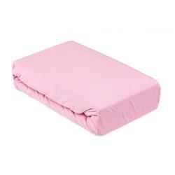 Чаршаф с ластик от памук Pink
