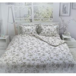 Бутиково спално бельо от памучен сатен Madison
