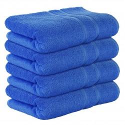 4бр. Големи хавлиени кърпи синьо