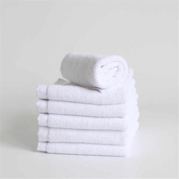 ПРОМО сет бели хавлиени кърпи за хотел