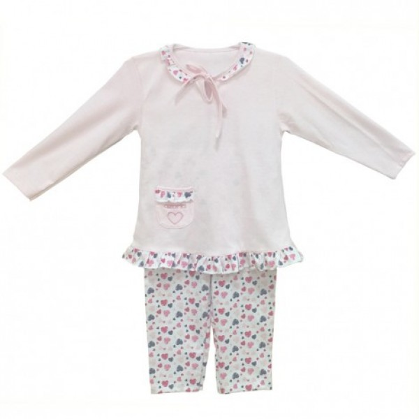 Детска пижама в розово Ивон 86см 1-1.5 години