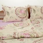 Спално бельо от сатениран ранфорс Rosa