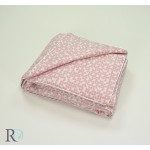 Олекотена завивка вискоза Leya розово