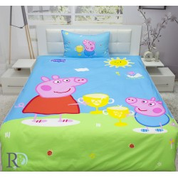 Луксозно спално бельо за деца Пепа Пиг