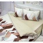Луксозно спално бельо памучен сатен Iridas
