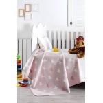 Бебешко одеяло от 100% Памук ЗВЕЗДИ